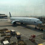 2017/08/21 Cathay Pacific  大阪to香港便 機内食